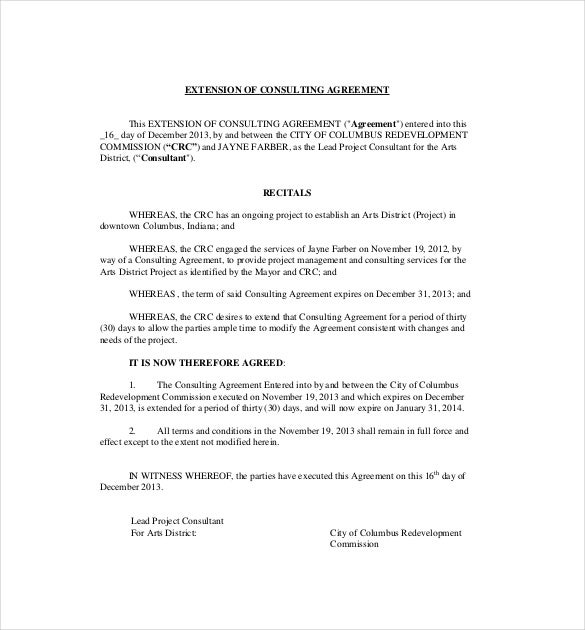 12+ Consulting Agreement Templates– Free Sample, Example, Format