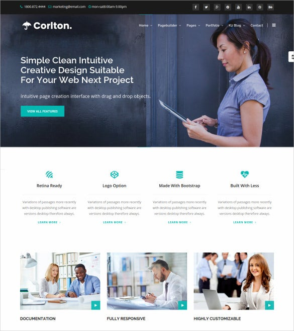 corlton multi purpose joomla template
