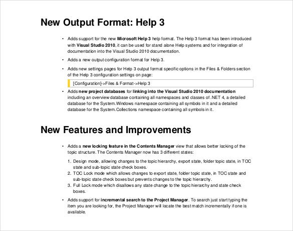 doc o matic release notes free pdf template