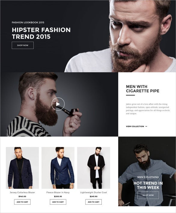 jakiro fashion shop joomla virtuemart template
