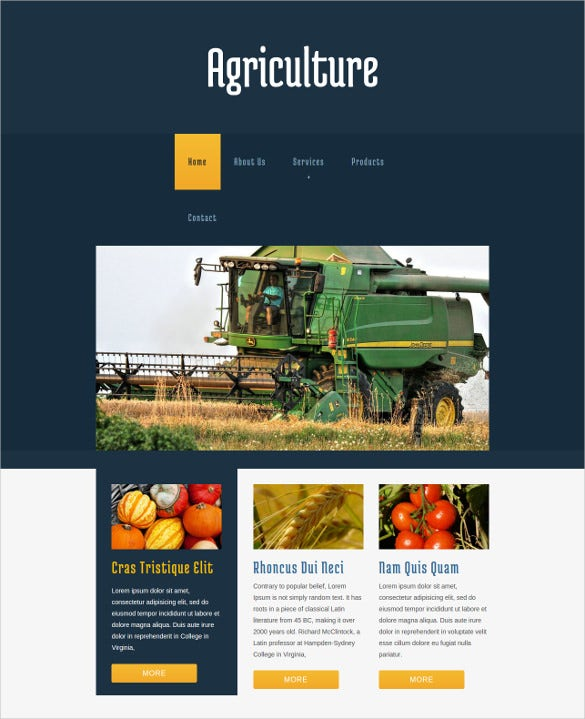 free agriculture website templates themes free premium free premium templates. Black Bedroom Furniture Sets. Home Design Ideas
