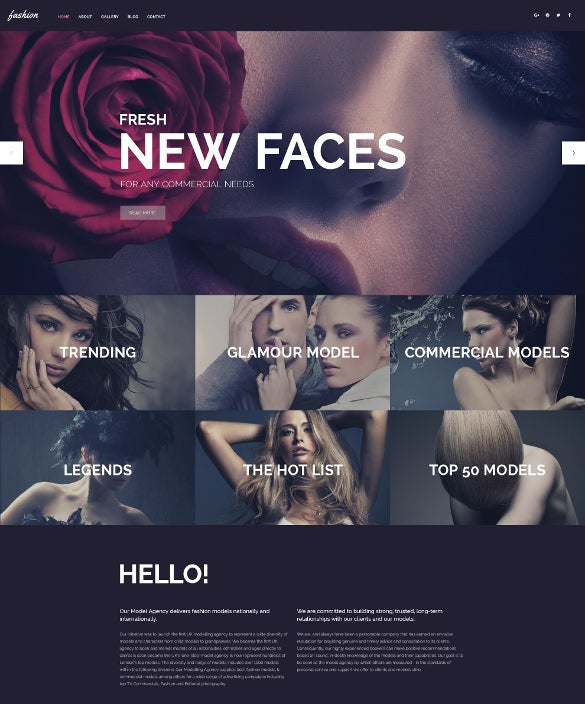 fashion responsive wordpress blog theme