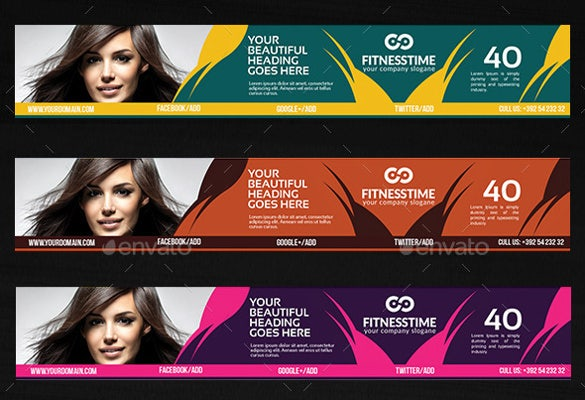 parlour youtube banner ad sample template