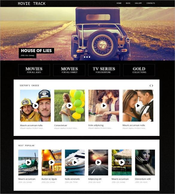 online movies wordpress blog theme