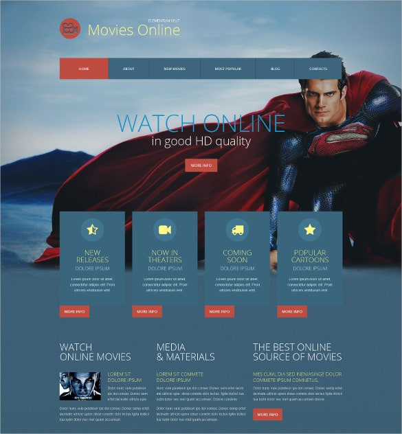 good quality movie responsive wordpress blog theme