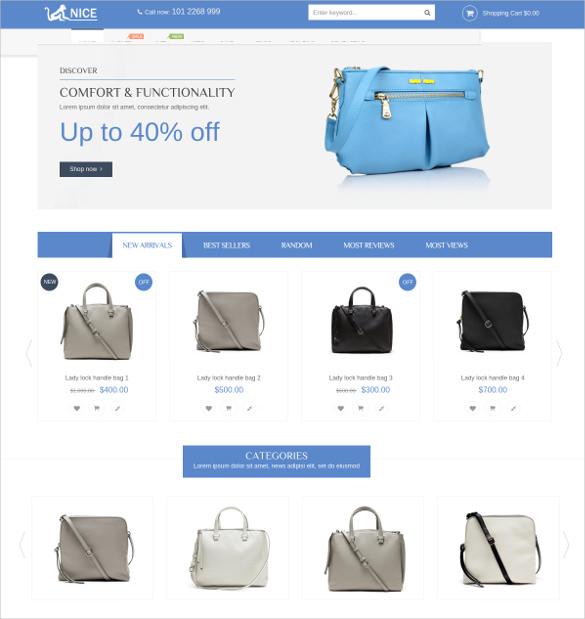 anice shop magento blog theme