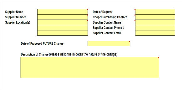 tooling inventory information form in excel