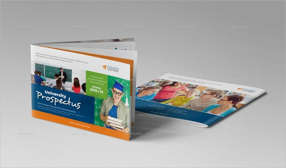 college prospectus brochure template