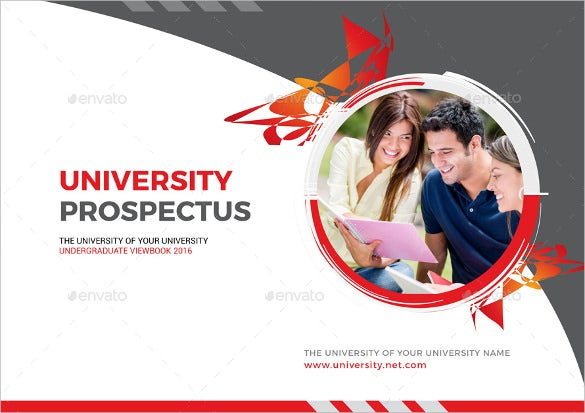stylish layout college brochure template