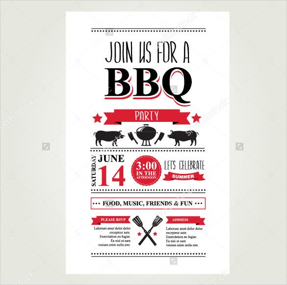 bbq brochure menu template download