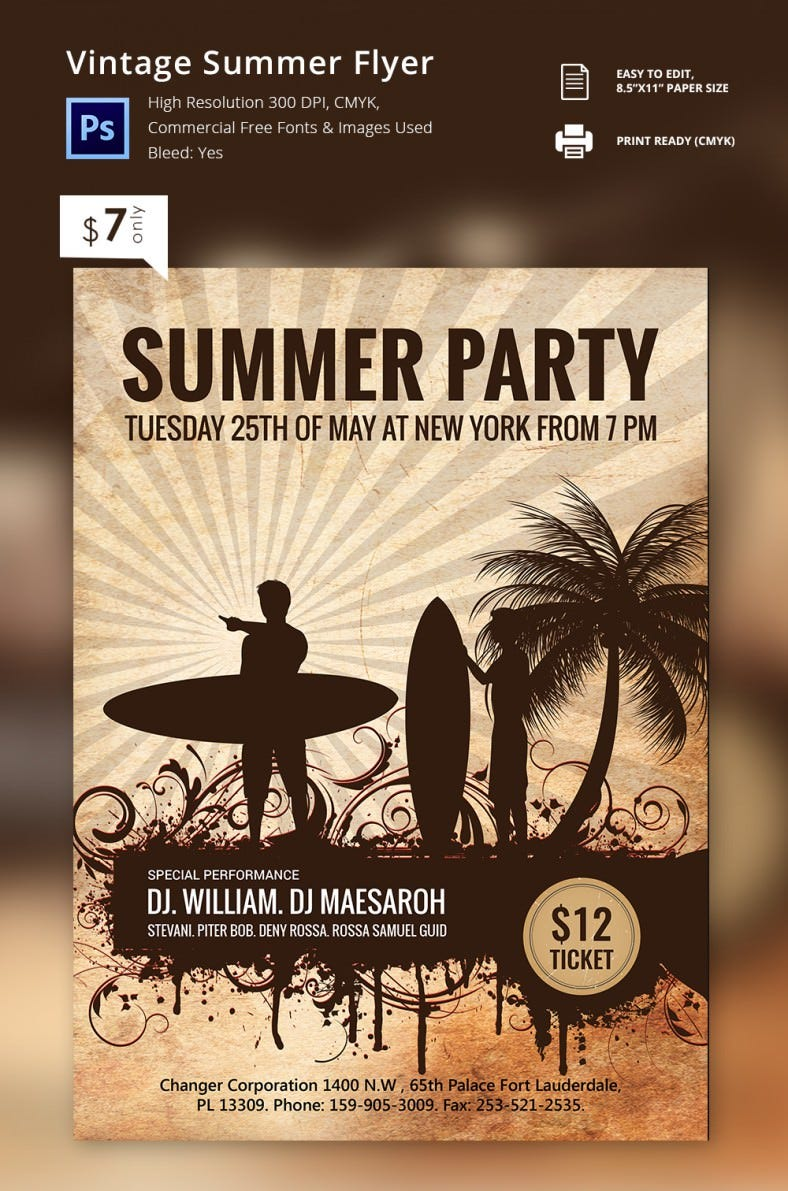 vintage_summer_flyer
