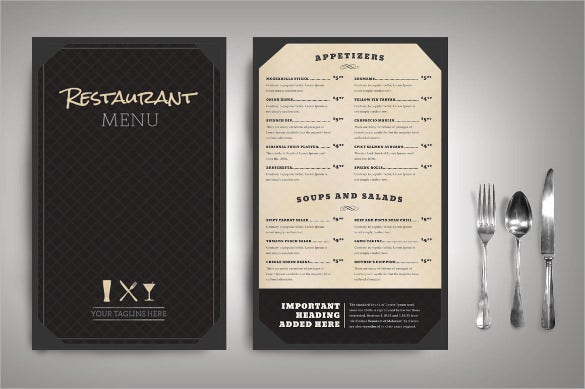 Menu Design Ideas restaurant menu template wild buffalo Classic Restaurant Menu Templatejpg Menu Design Ideas