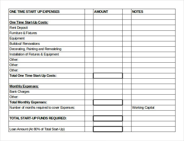 sample inventory worksheet template