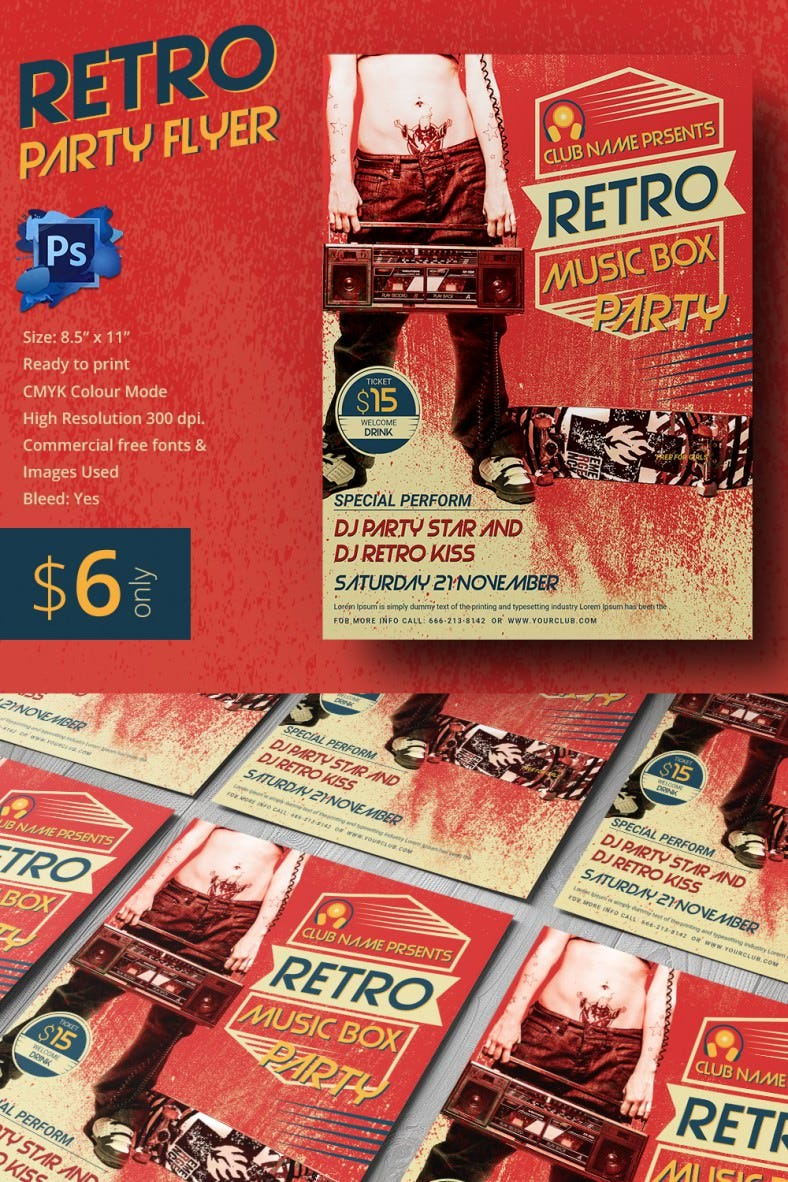 RetroMusicBox_Flyer