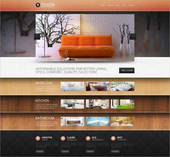 living room furniture drupal template