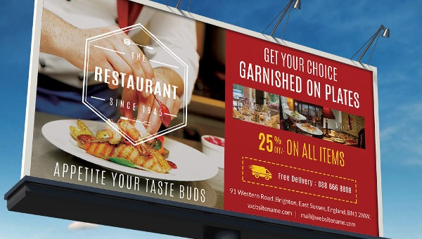 restaurant_billboardtemplate