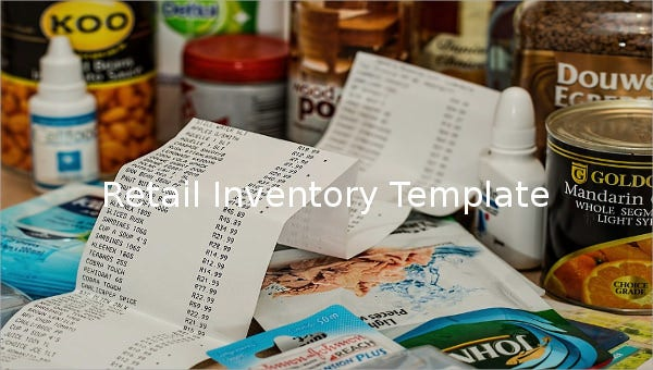 retail inventory template