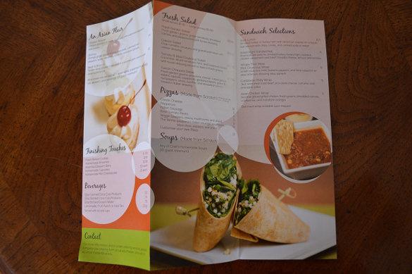 catering menu template download