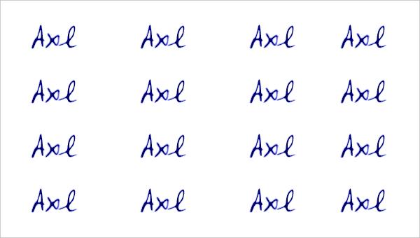 vLetter Axl Font