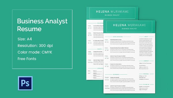 businessanalyst_template