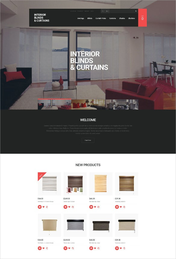 furniture panels magento blog theme