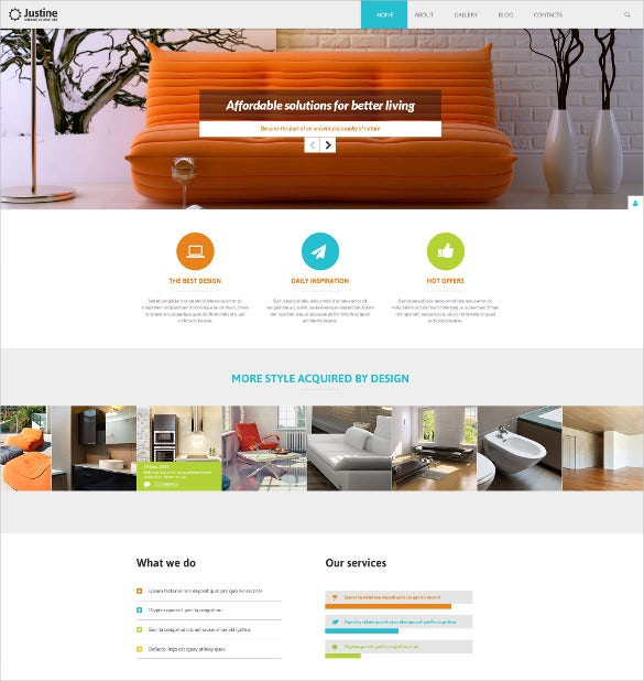 living room furniture joomla blog template