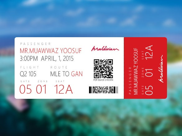 21 examples of boarding pass designs ideas free premium