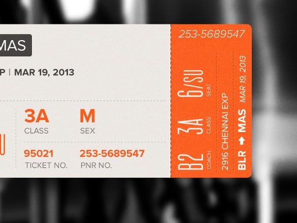 happy journey boarding pass new design