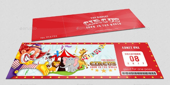 ticket mockup design psd format download