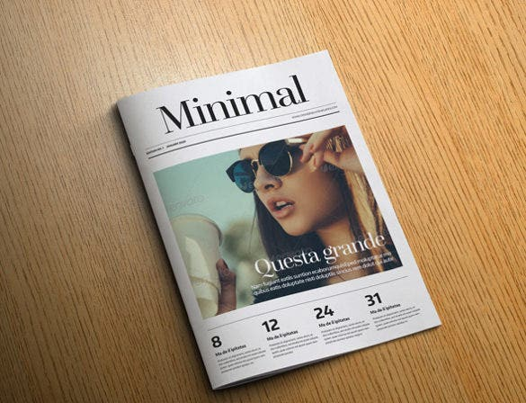 minimal magazine cover template1