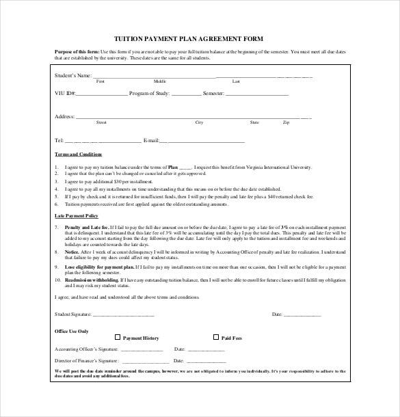 Tuition Reimbursement Agreement Template