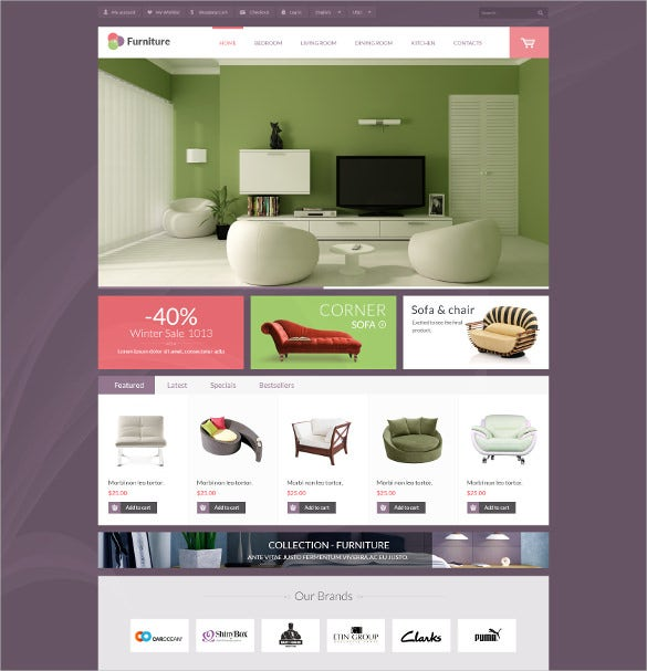 Furniture Html Templates 22+ Furniture HTML5 Themes & Templates | Free & Premium ...
