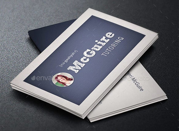 56  teachers business cards
