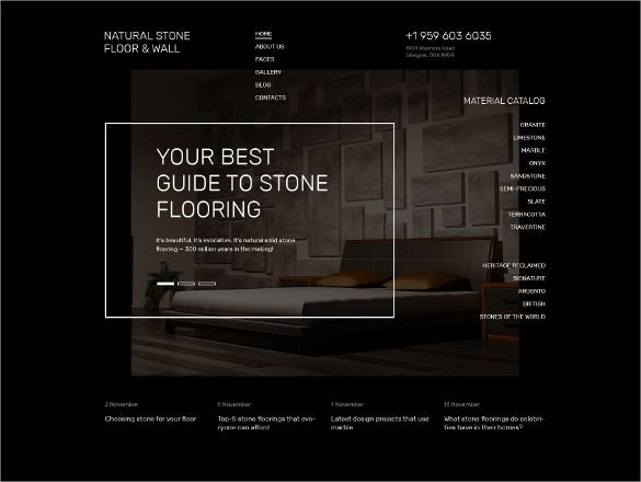 floor furniture joomla template