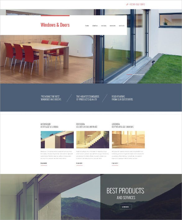 21+ Furniture Bootstrap Themes & Templates
