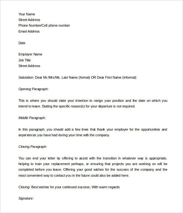 33 two weeks notice letter templates pdf doc free premium free editable two weeks notice template spiritdancerdesigns Gallery