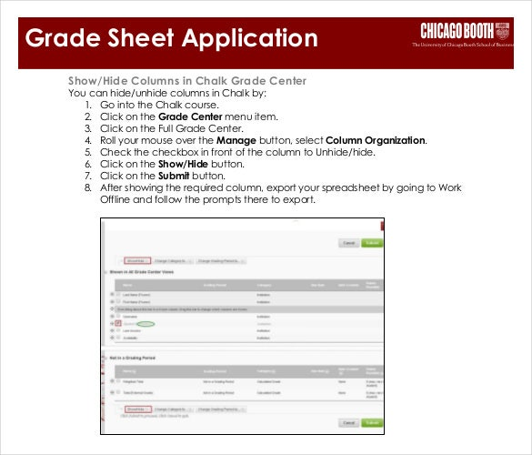 Grade Sheet Template - 32+ Free Word, Excel, PDF Documents
