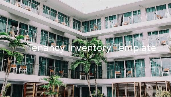 tenancy inventory template