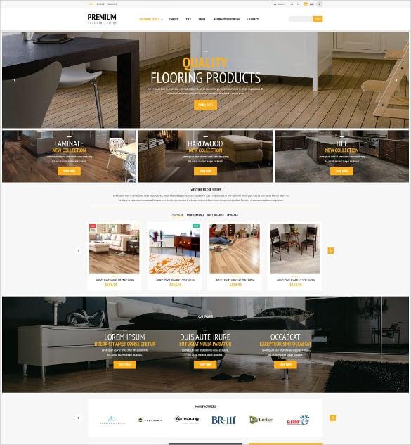 flooring furniture store prestashop php theme