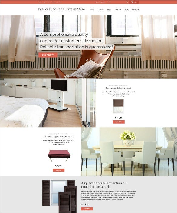 20+ Furniture PHP Themes & Templates | Free & Premium Templates