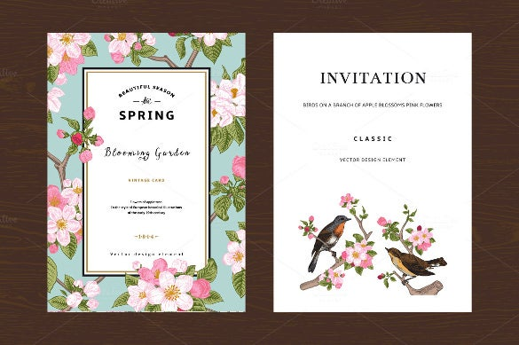 Engagement Invitation Template   Free Psd Ai Vector Eps