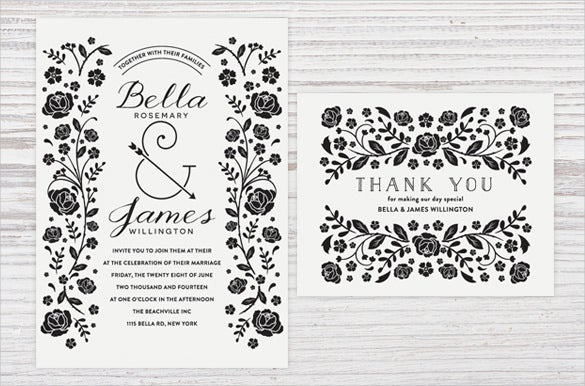Engagement Invitation Template 26 Free PSD AI Vector EPS Format