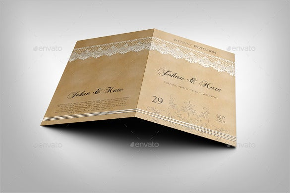 bridal engagement invitation template