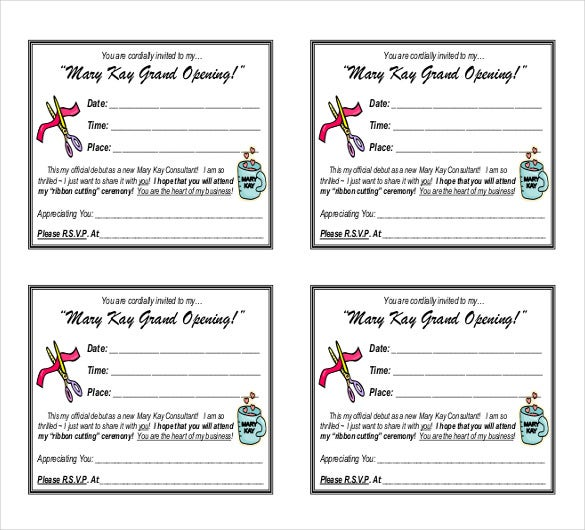 debut invitation template pdf download