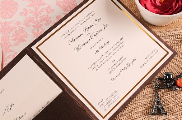 Debut Invitation Template 28 Free Word PDF PSD Format Download