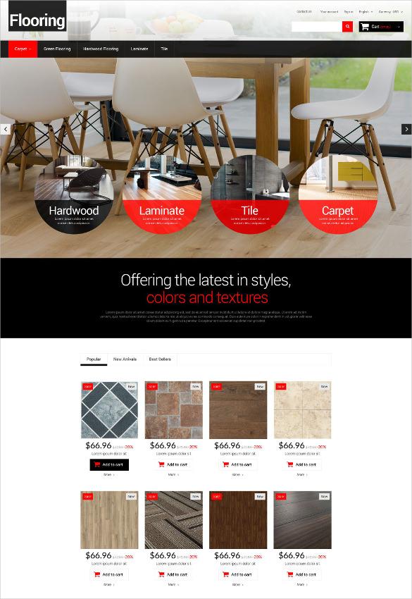 furniture flooring homes prestashop php theme