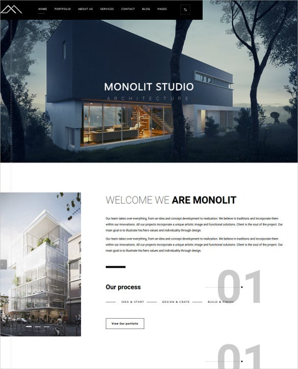 modern responsive furniture php template