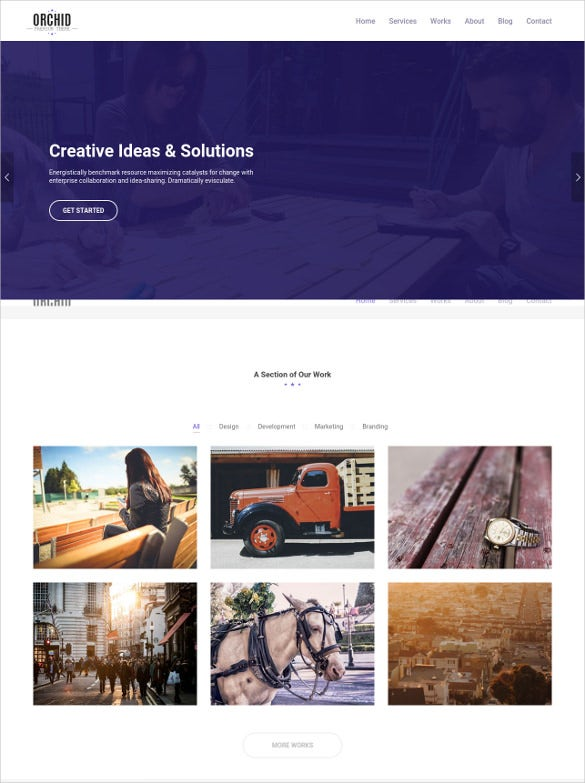responsive business furniture php template