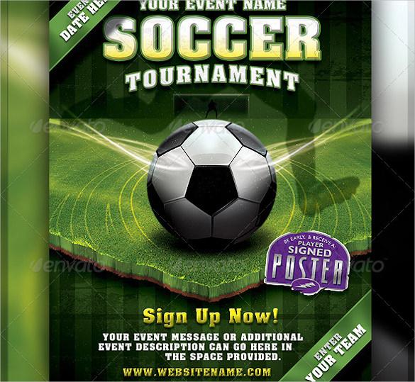 Soccer flyer