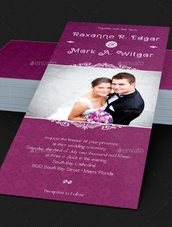 Invitation Card Templates 25 Free PSD AI Vector EPS Format – Free Wedding Invitation Card Template